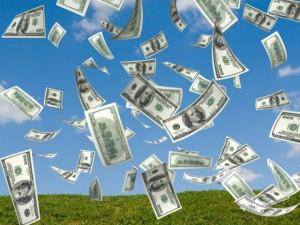 закон дарения и получения, деньги