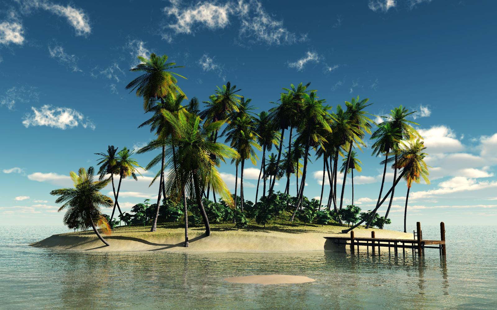 Притча. Необитаемый остров.